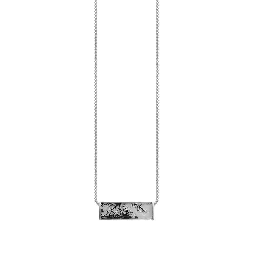 The Branch Horizontal Box Necklace