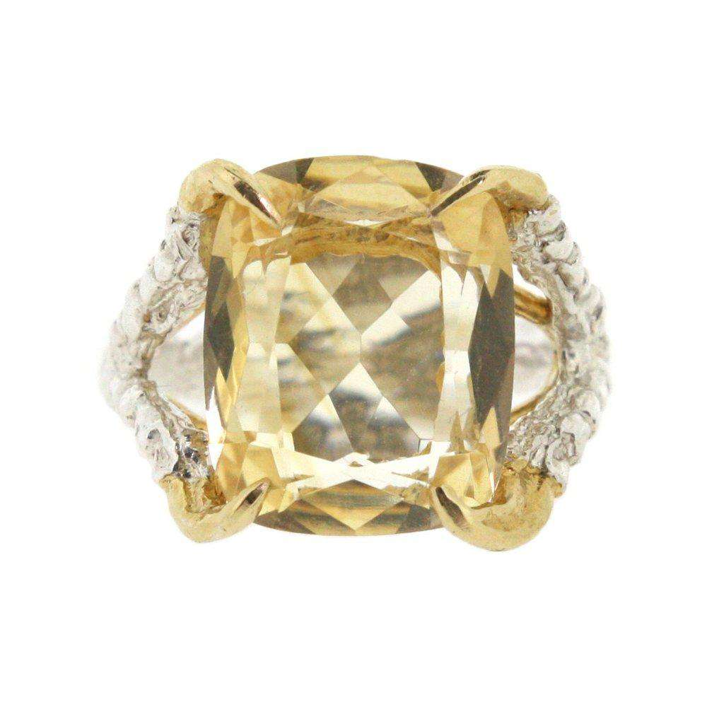 Antique Citrine - Claws of Engagement