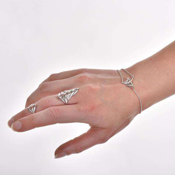 Backbone Bracelet Sterling Silver