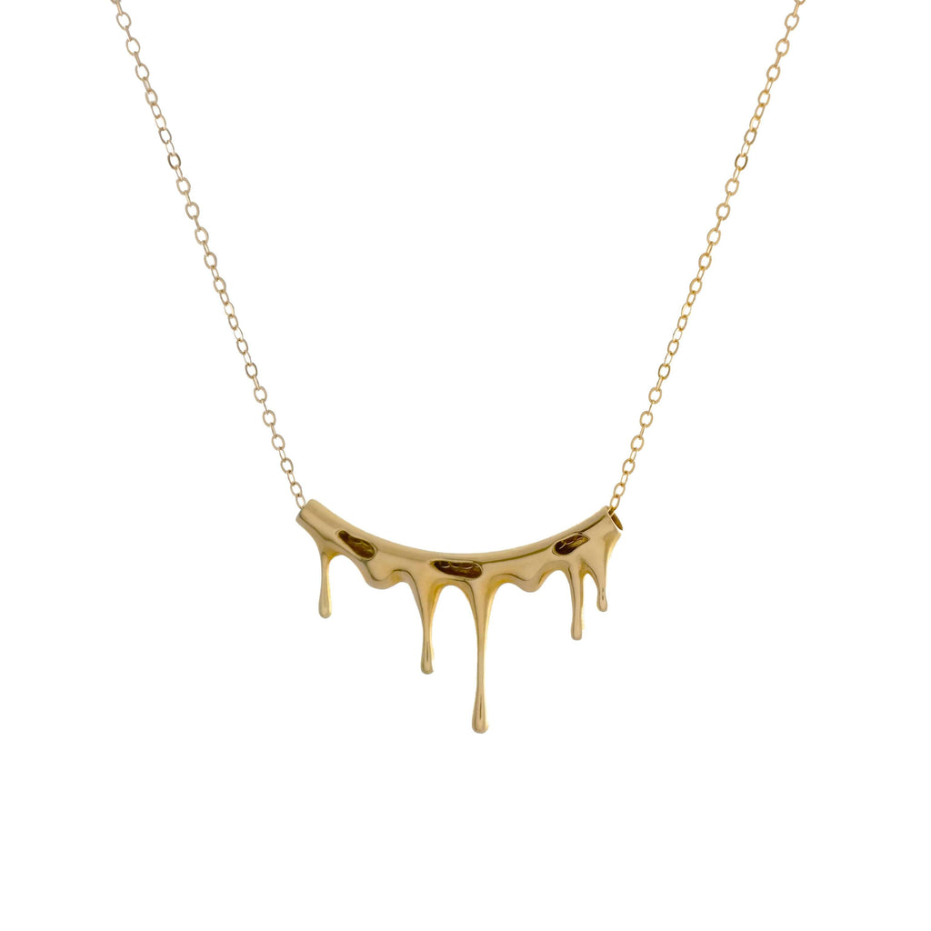 Rivulets Gold Necklace