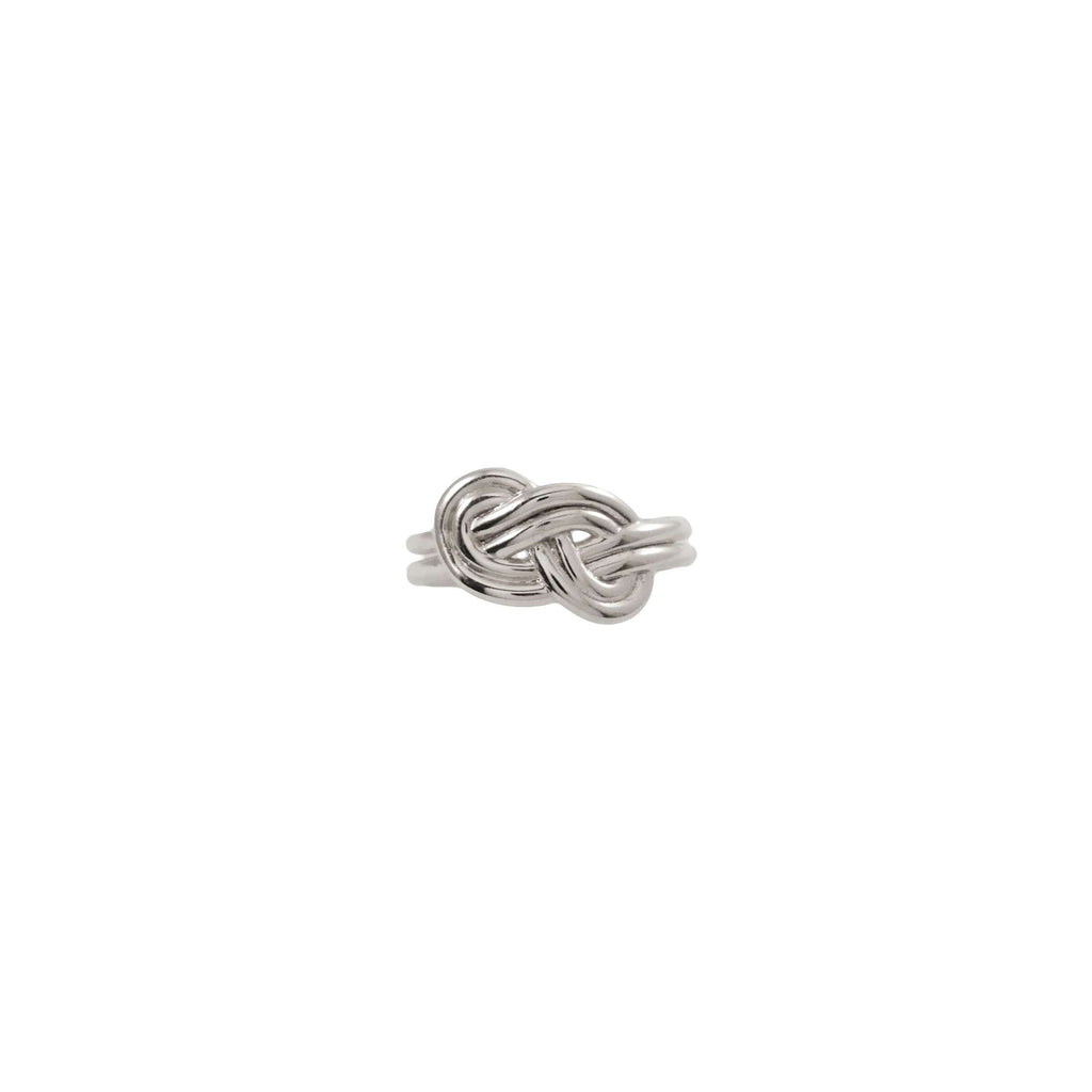 Figure 8 Knot Silver Ring