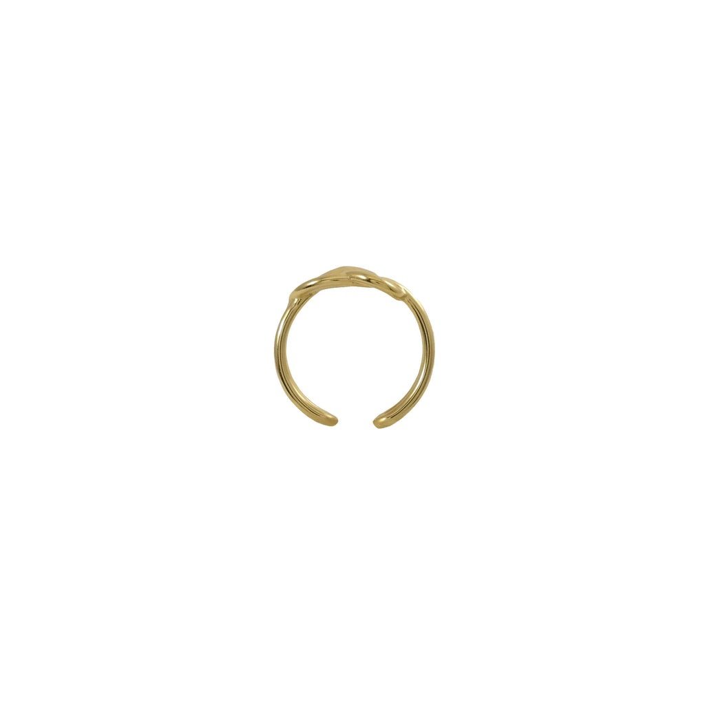Figure 8 Knot Gold Ring