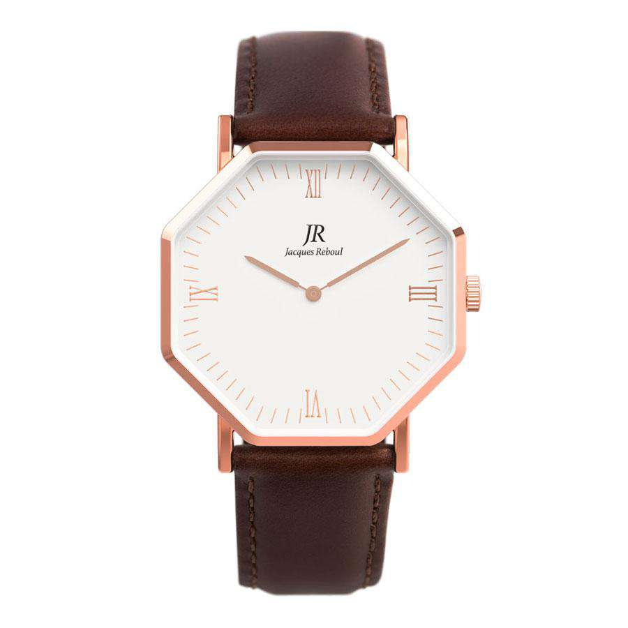 Lumiere Intense Roman Rose | St. Germain Unisex 41mm Watch