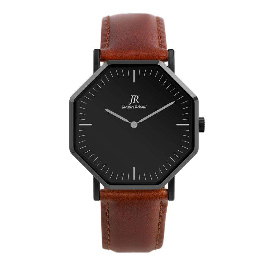 Nuit Noir Classic Black | St. Martin Unisex 41mm Watch