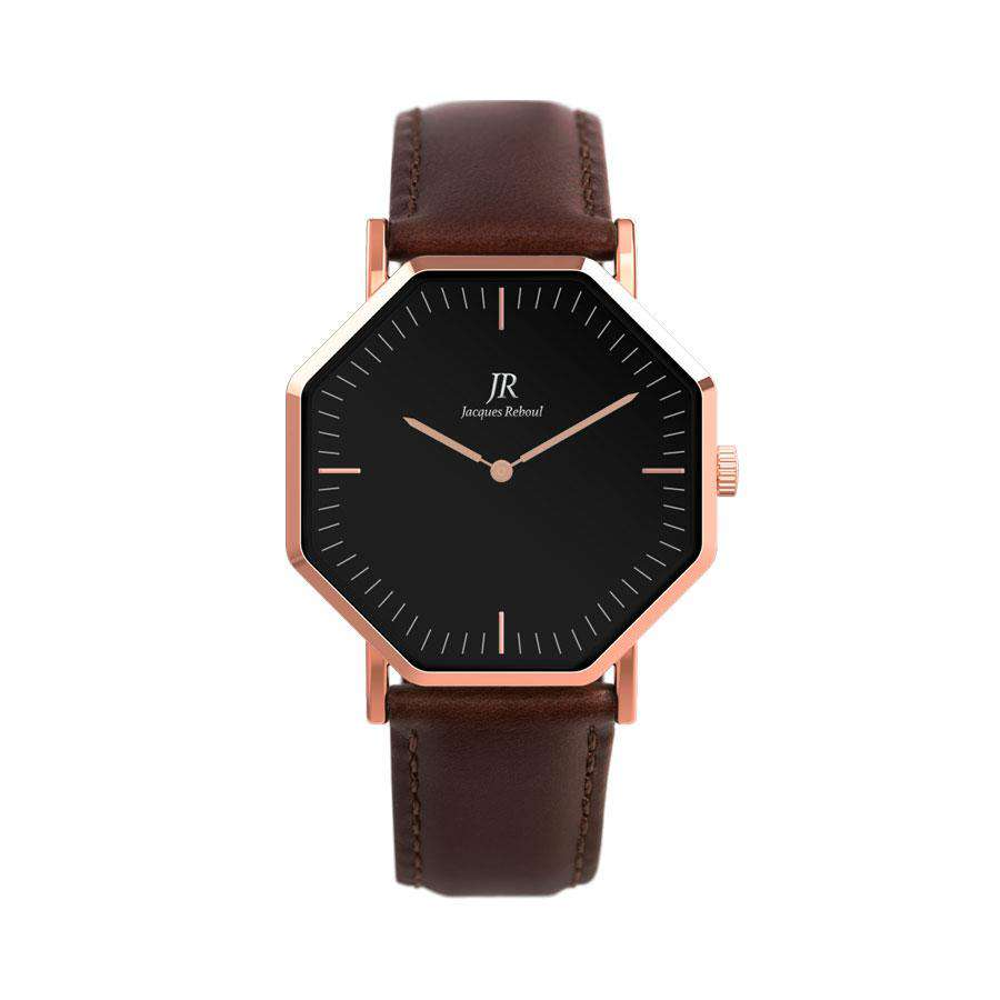 Lumiere Noir Classic Rose Black | St. Germain Women's 36mm Watch