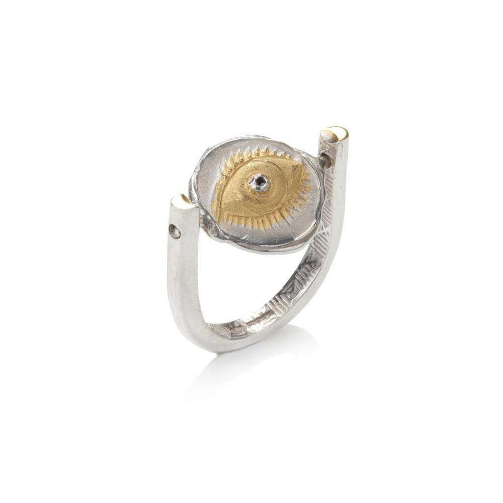 Spinning Winking Eye Ring