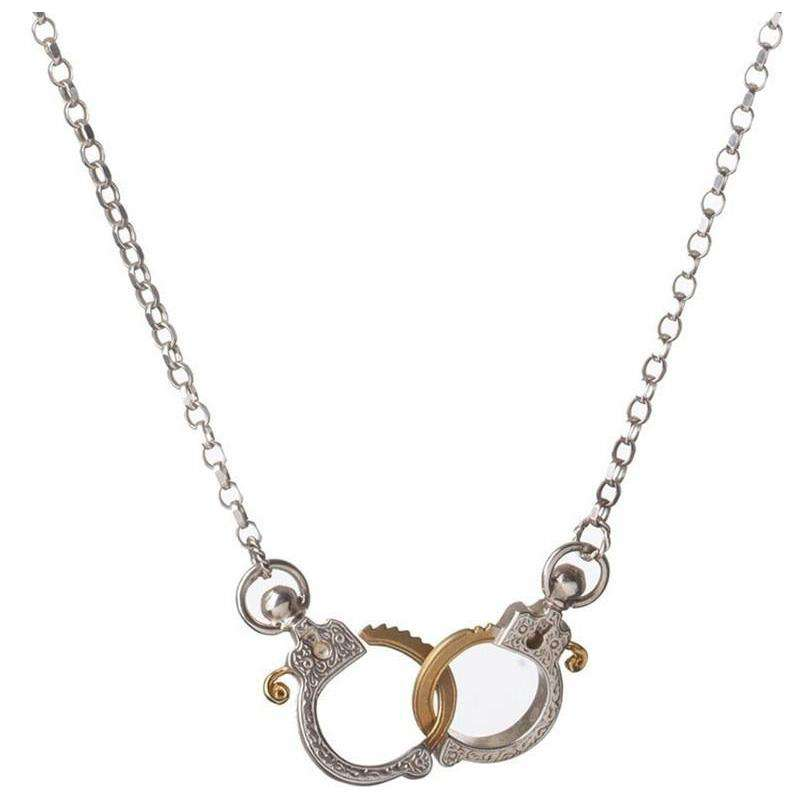 Mini Handcuff Necklace