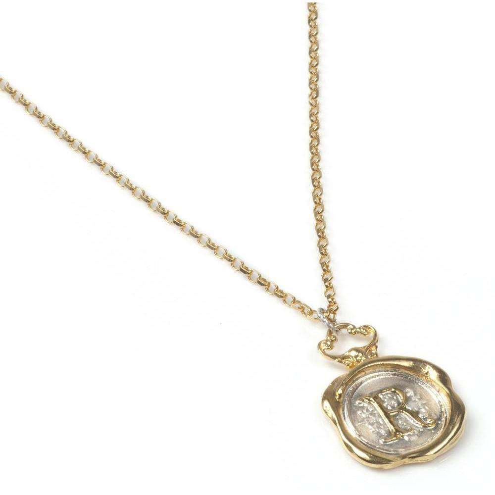 Personalised Wax Seal Necklace