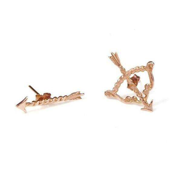 Bow and Arrow Earrings
