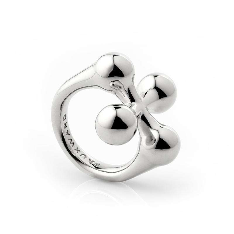 Clover Ring Silver