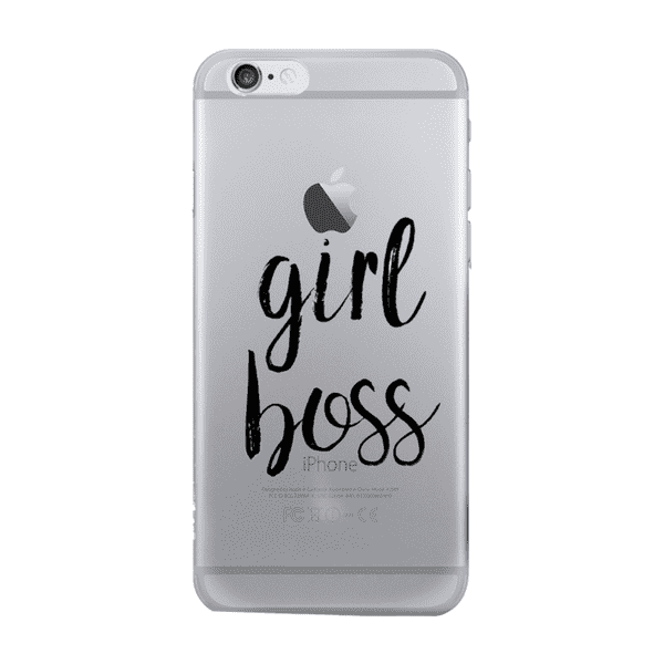 """Girl Boss"" iPhone Case for the 7 or 8"