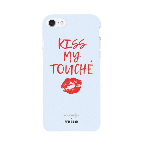 "Touché LA x Fifth & Ninth ""Kiss My Touché"" Case in Sky Blue for the iPhone 6/6s/7/8"