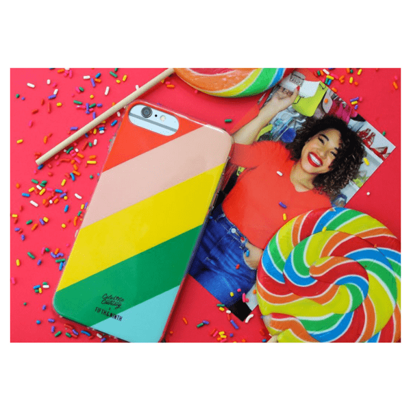 """Walking On Rainbows"" Case for the iPhone 6/6s/7/8 Plus and X"
