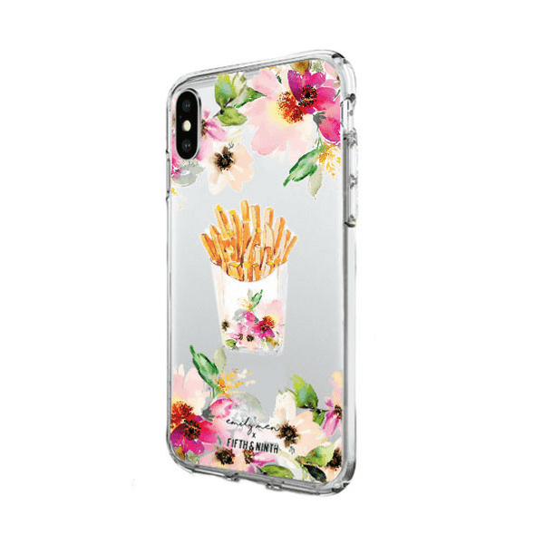 "Emily Men x Fifth & Ninth ""Flowers & Fries"" Case for the iPhone 6/6s/7/8 and X"