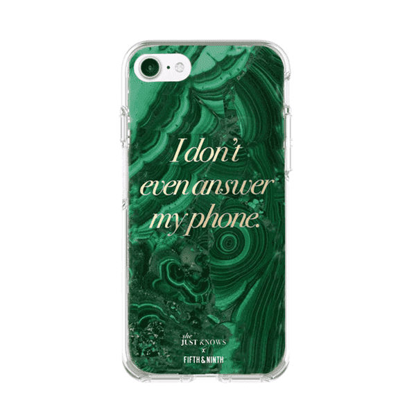 """She Just Knows"" iPhone Case"
