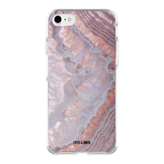 """Amethyst Agate"" iPhone Case"