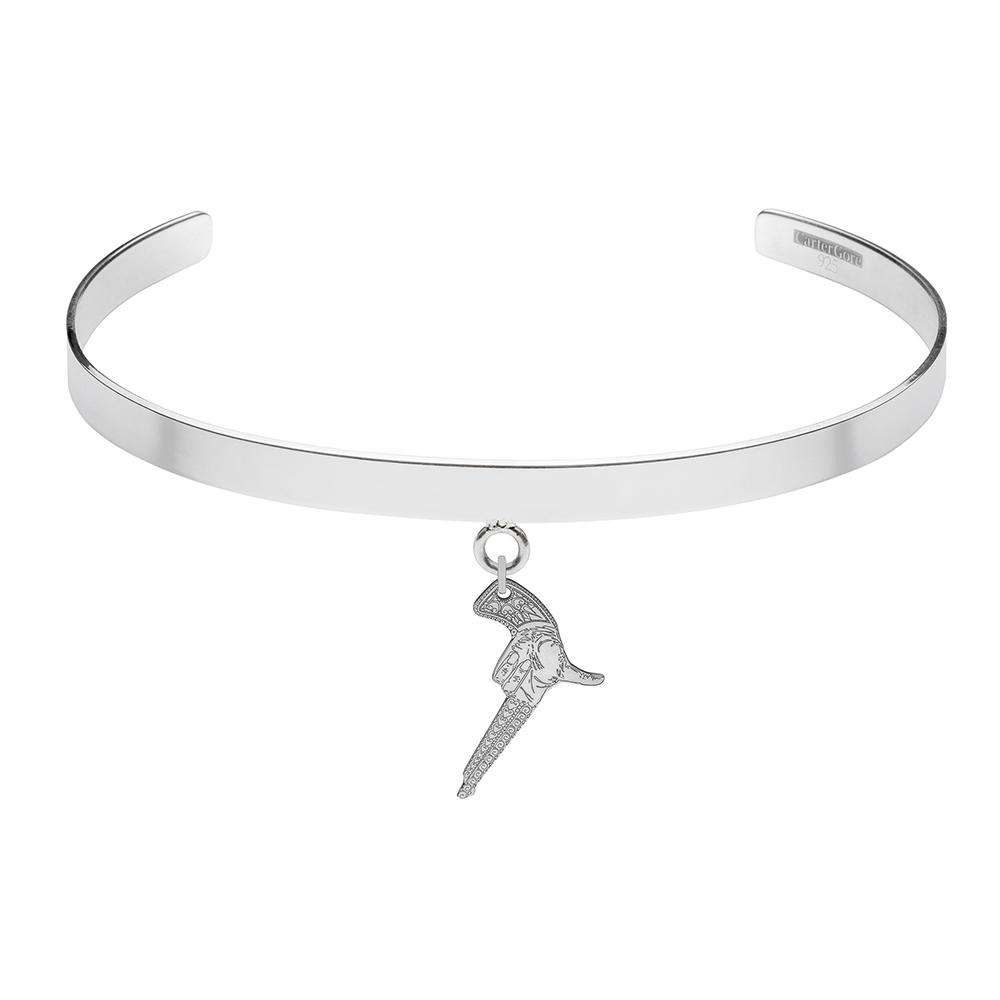 Hand Gun – Single Charm Choker