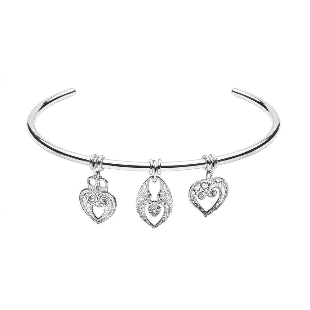 Hearts Theme – Triple Charm Choker