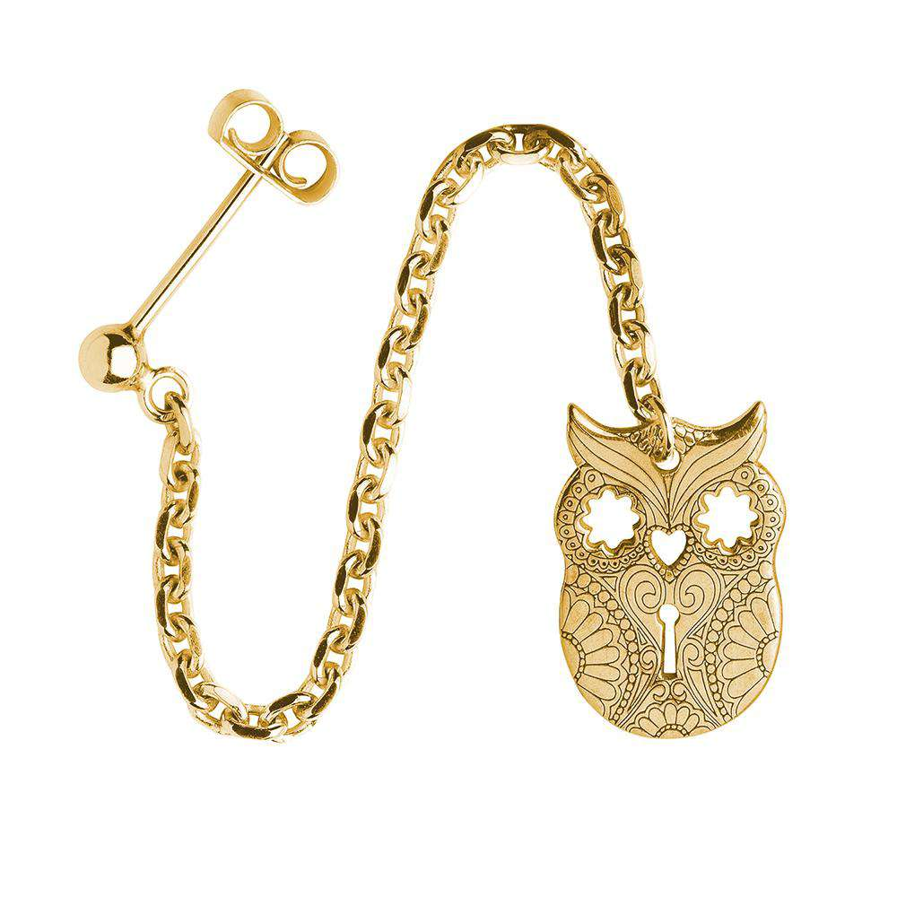 Owl – Single Earring