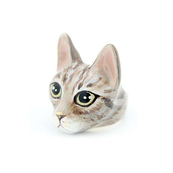 Mok Tabby Cat Ring