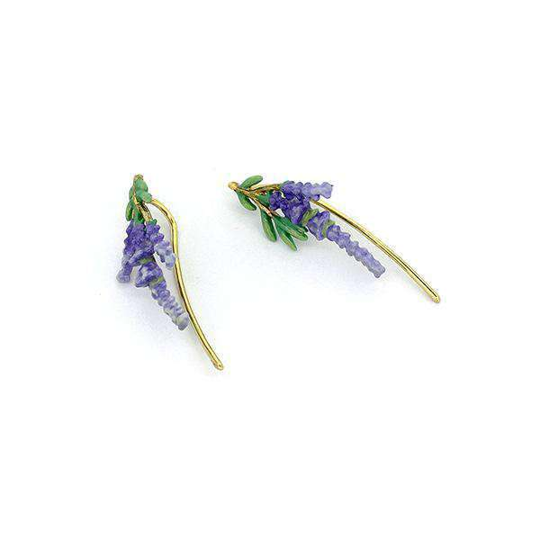 Lavender Climbers Earrings