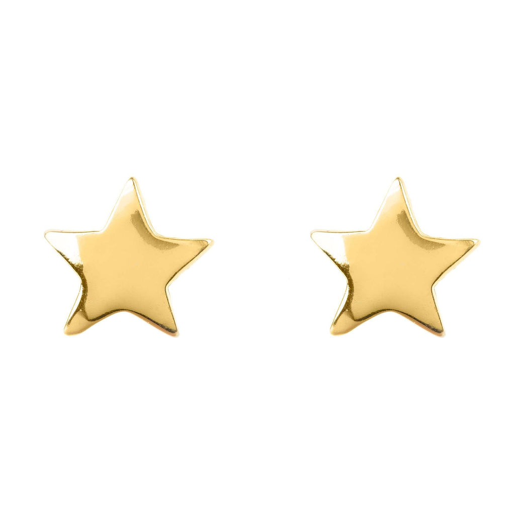 Mini Star Stud Earring Gold