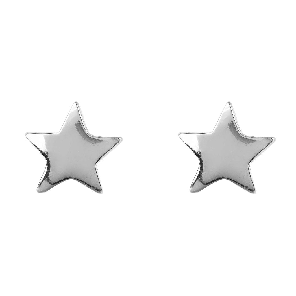 Mini Star Stud Earring Silver