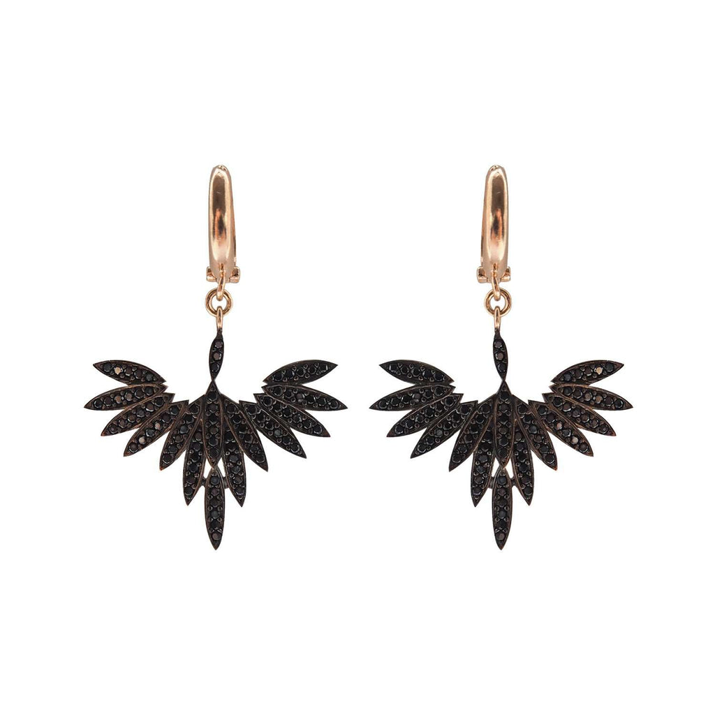 Black Fly High Earrings