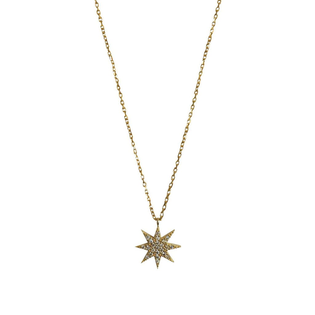 Lamat Star Necklace Gold