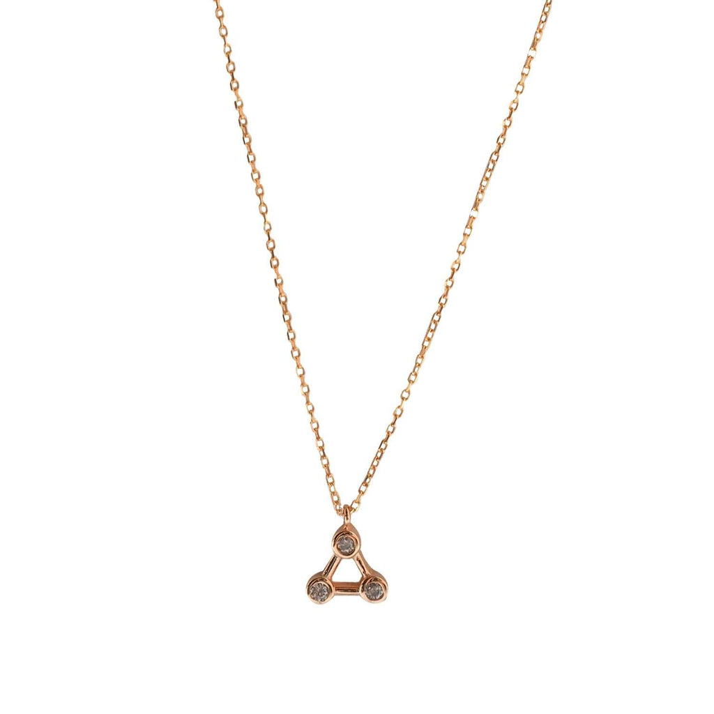 Constellation Necklace Rose Gold