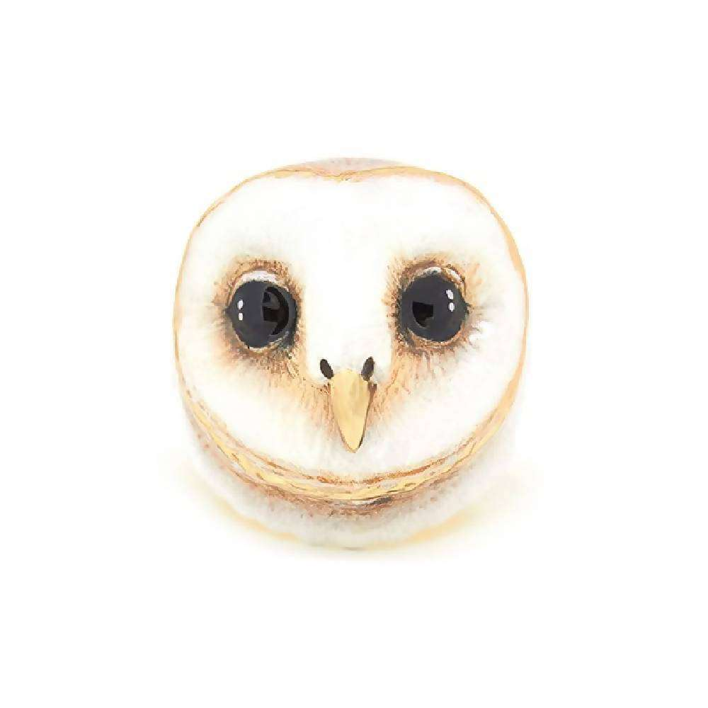 Lucky Barn Owl Ring