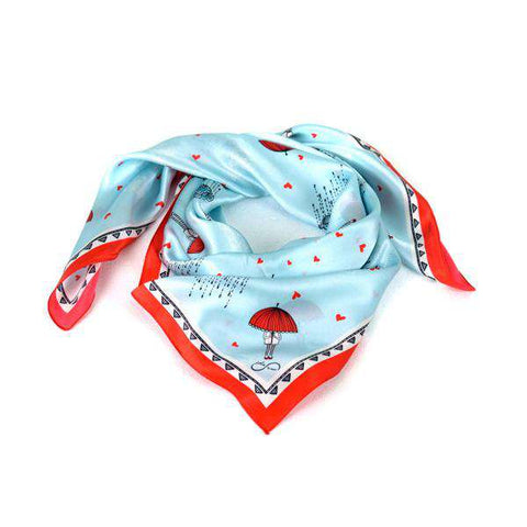 The Little Red Riding Hood Silk Scarf