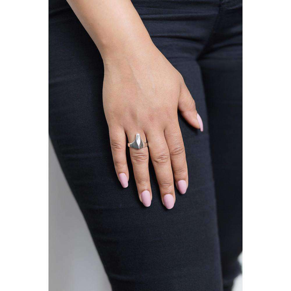 Lemta T Shape Ring - Rokus Jewellery - THE POMMIER - 2