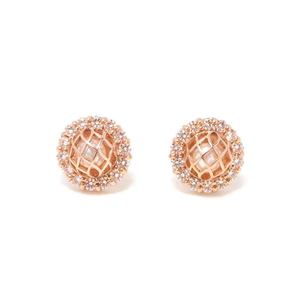 Signature CZ Earring - Matara - THE POMMIER - 2