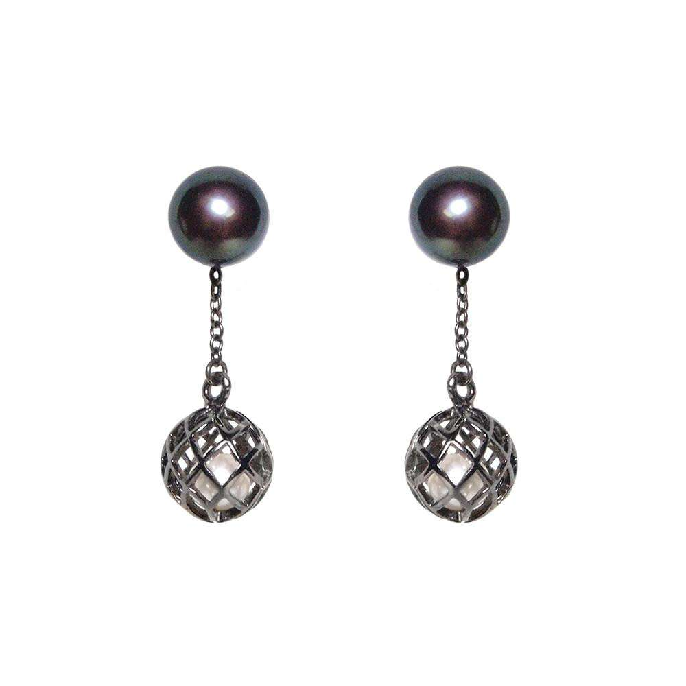Signature Down Earring - Matara - THE POMMIER - 1