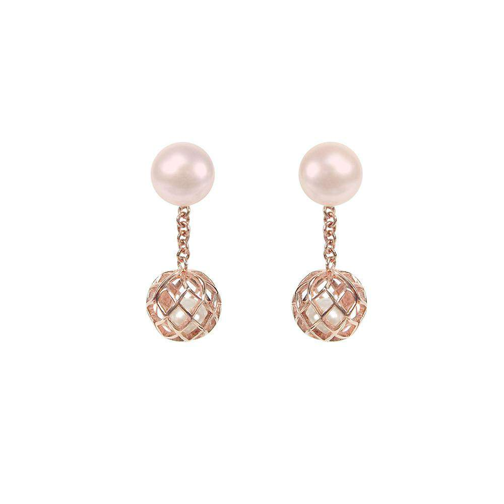 Signature Down Earring - Matara - THE POMMIER - 2