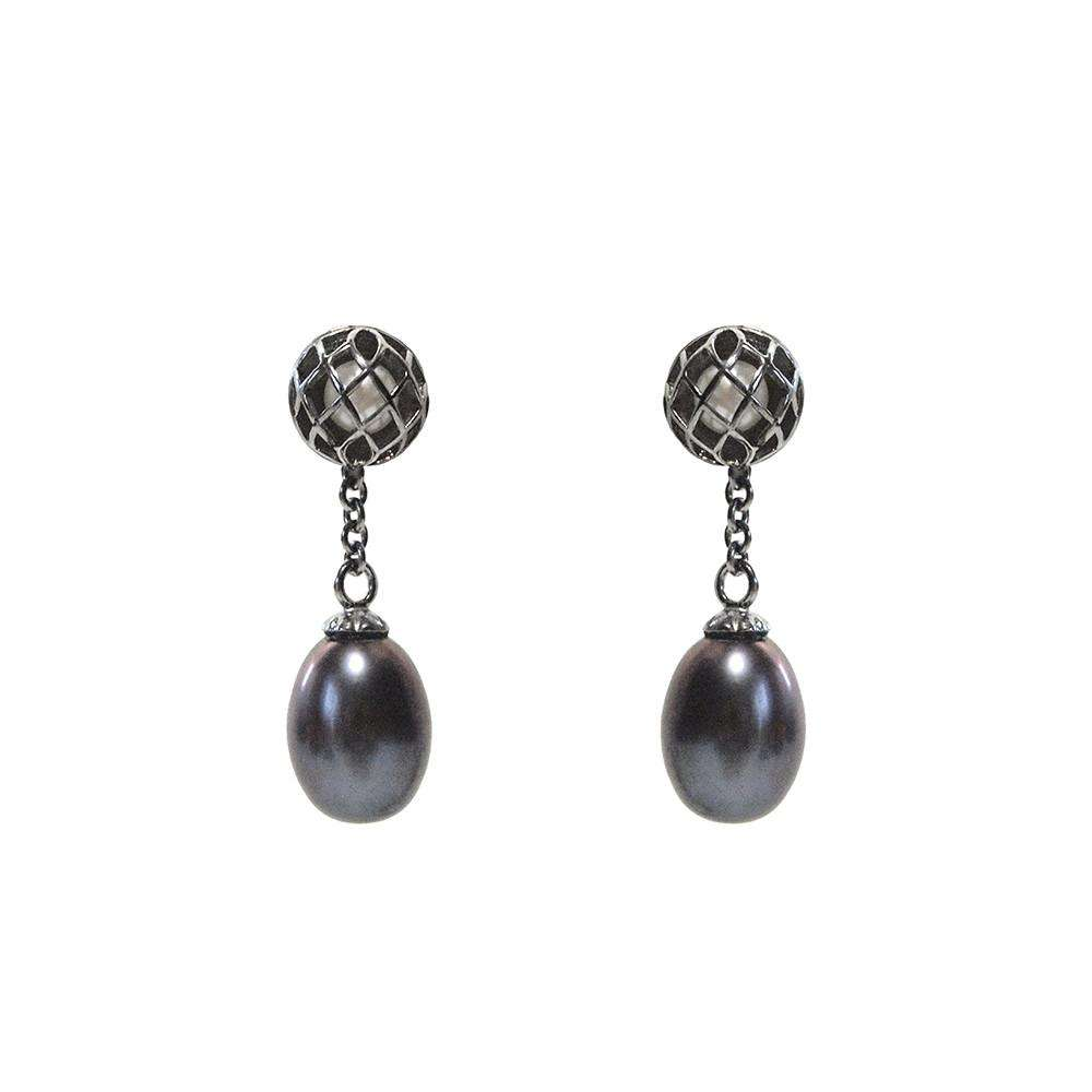 Signature Up Earring - Matara - THE POMMIER - 2