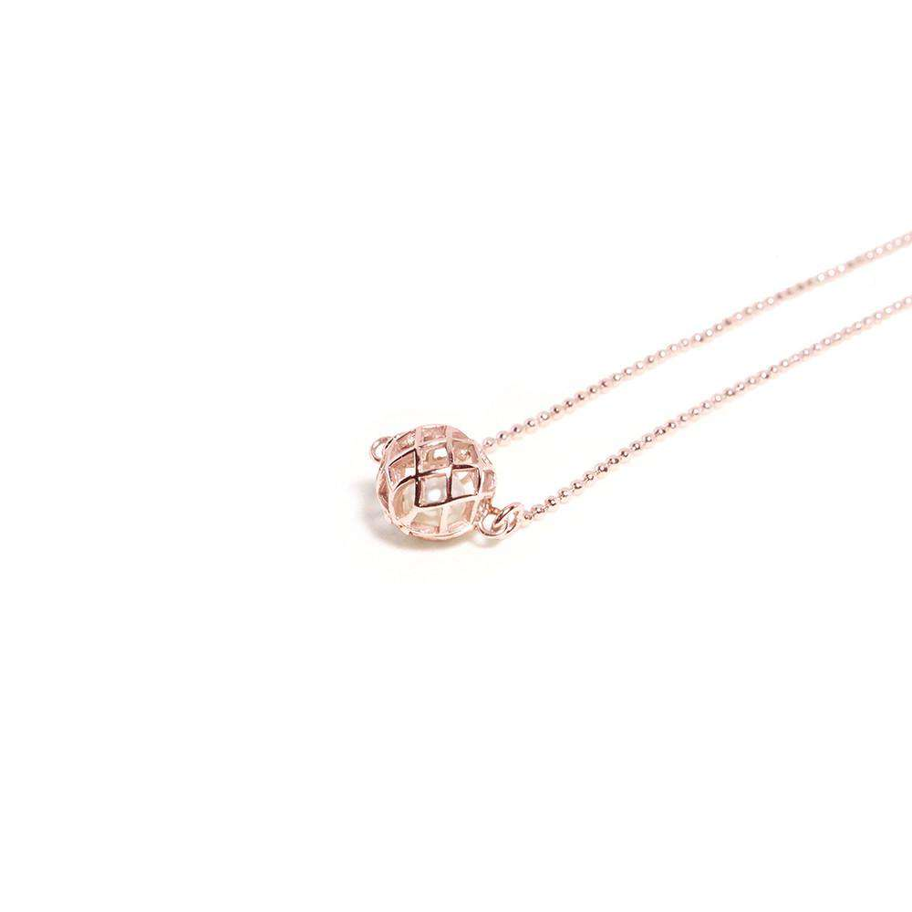 Small Signature Necklace - Matara - THE POMMIER - 2