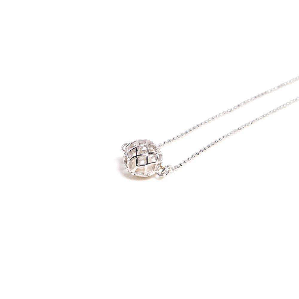 Small Signature Necklace - Matara - THE POMMIER - 3