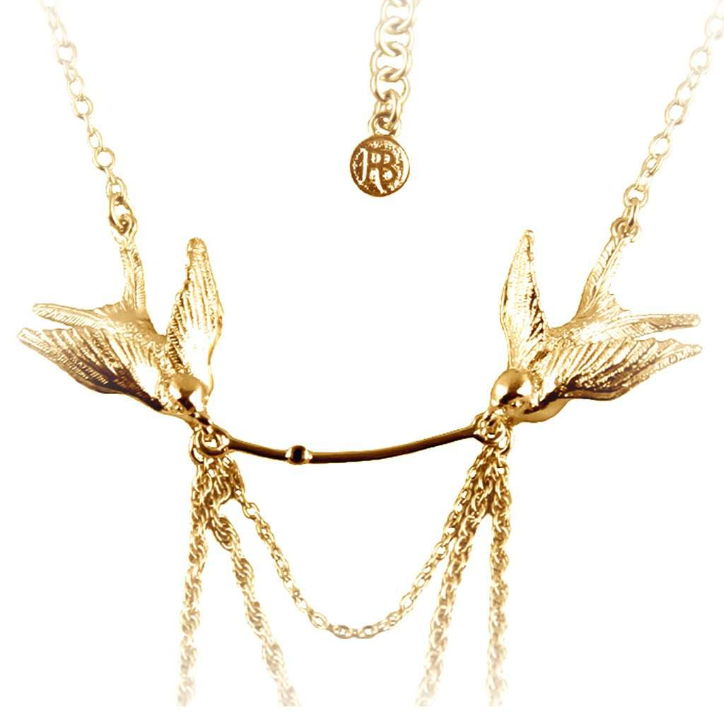 Statement Swallow Necklace