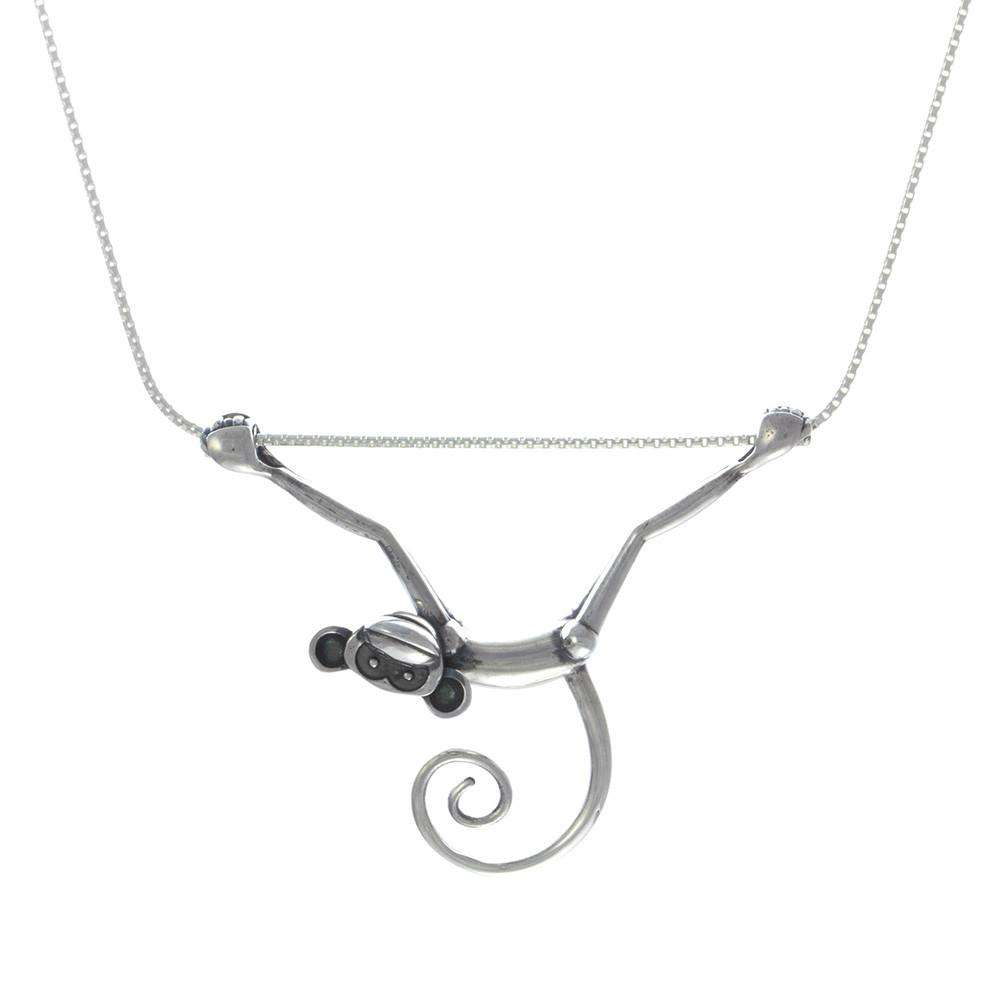 Toy Monkey Necklace - Lee Renee - THE POMMIER - 2