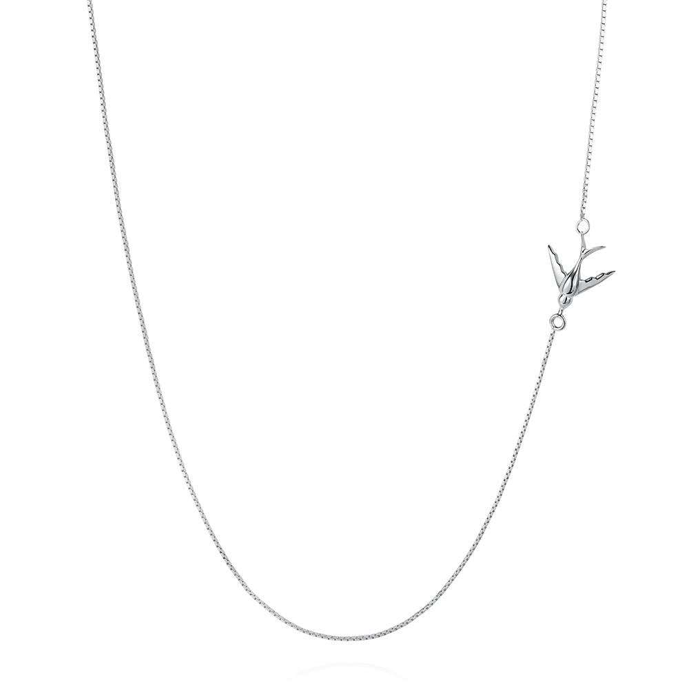 Swallow Necklace – Gold - Lee Renee - THE POMMIER - 2