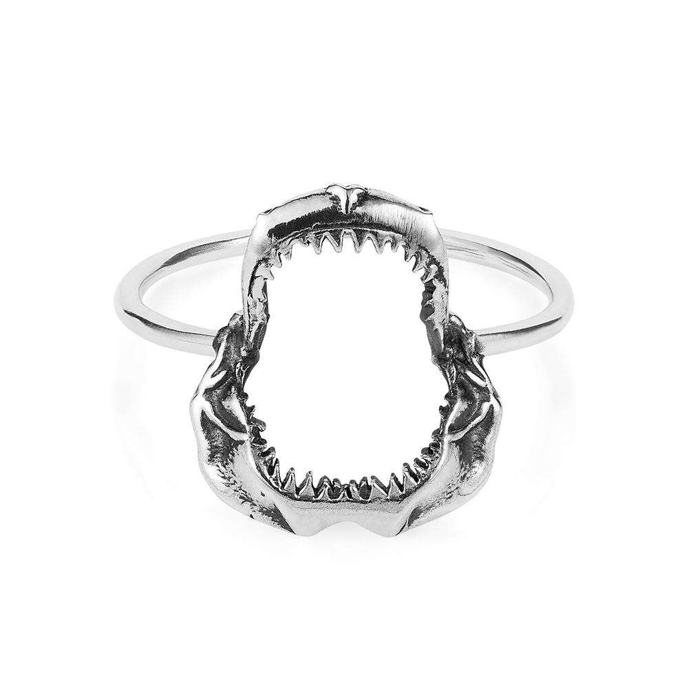 Shark Jawbone Ring