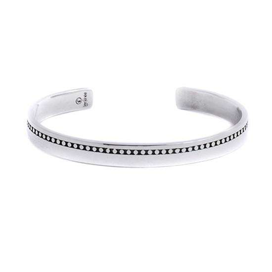 Men's Bangle - Silver - Lee Renee - THE POMMIER - 1