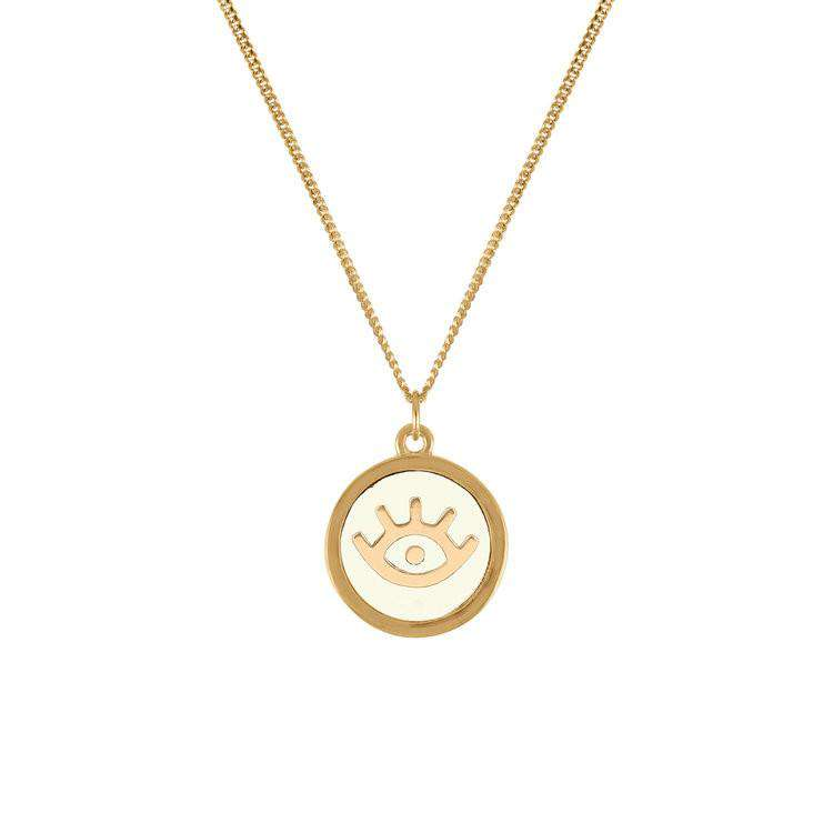 Evil Eye Pendant Necklace - Lee Renee - THE POMMIER - 1