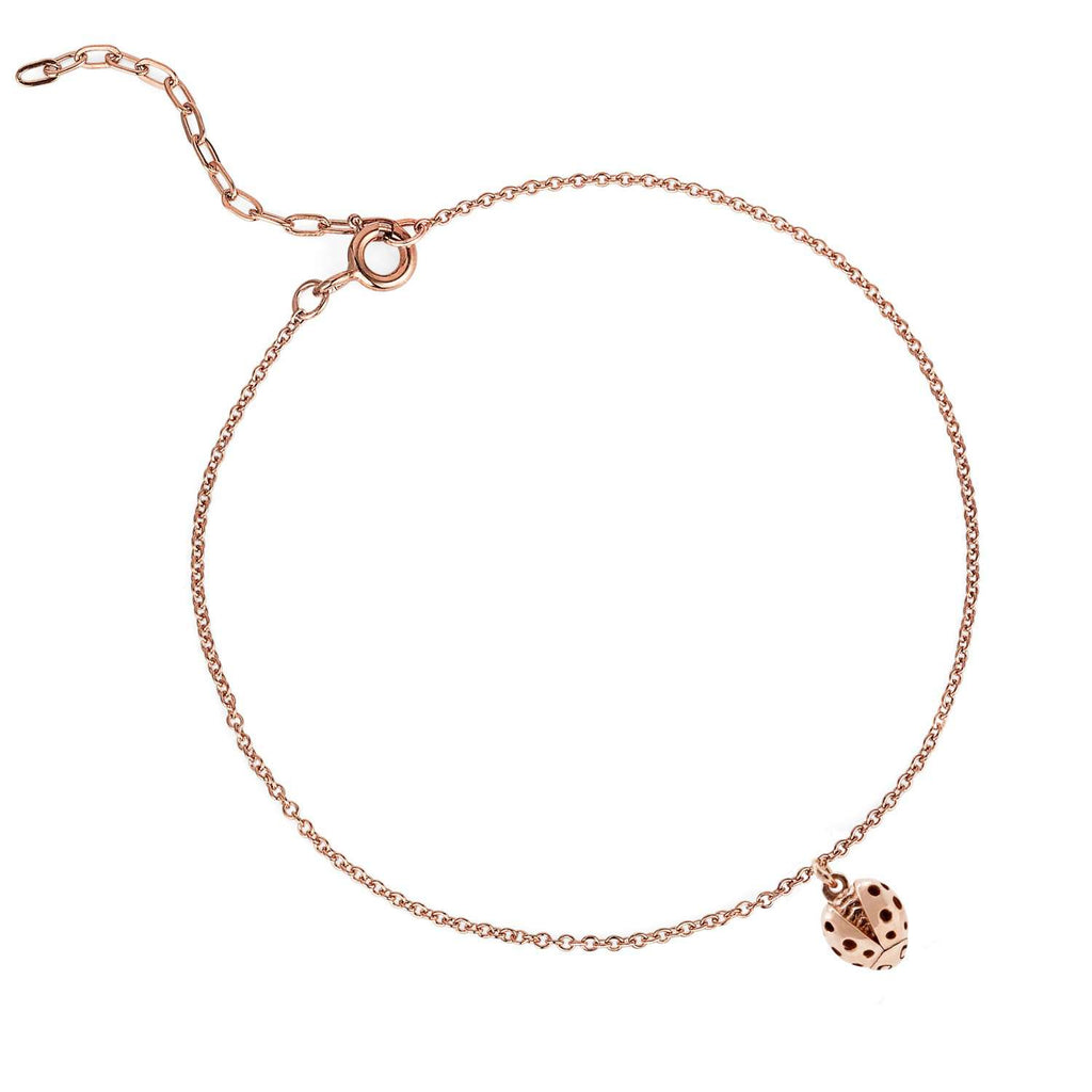 Ladybird Bracelet (wings open) Rose Gold/Silver/Gold