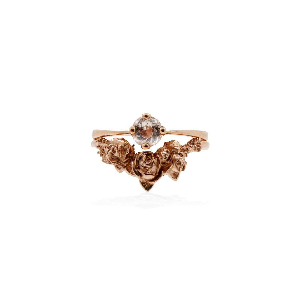Rose Chevron Ring – Gold/Silver/Rose Gold