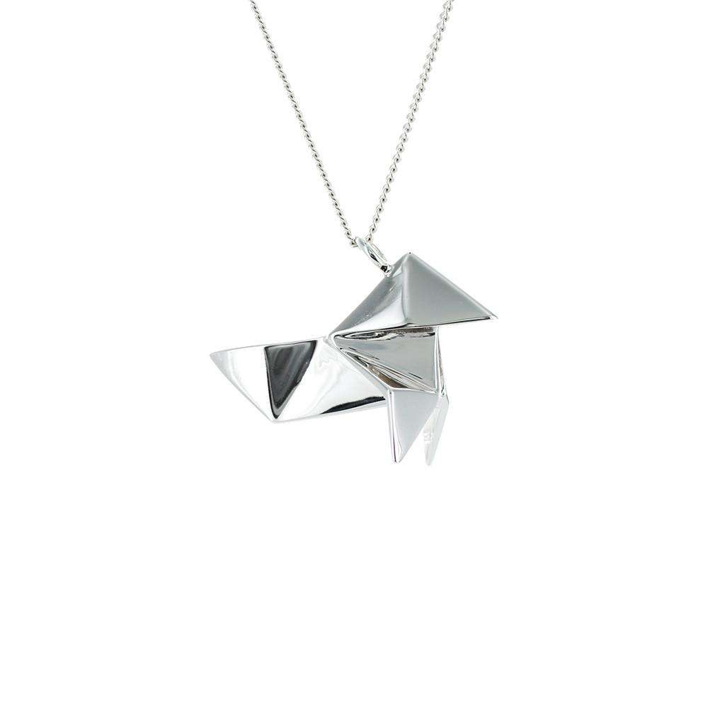 Cuckoo Necklace - Origami Jewellery - THE POMMIER - 2