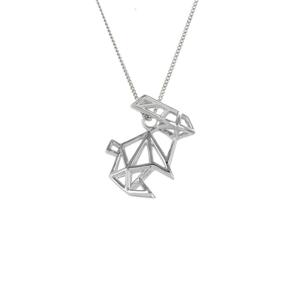 Frame Rabbit Necklace