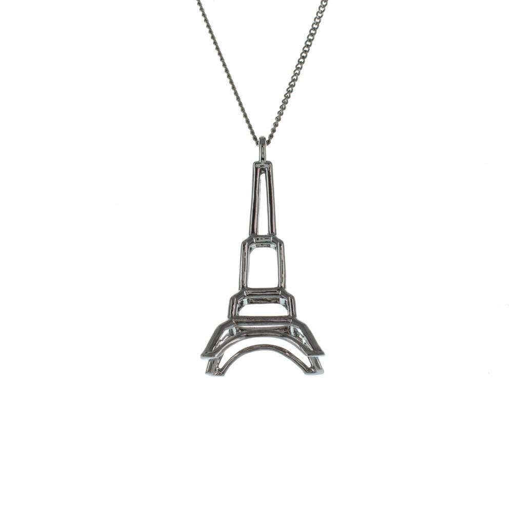 Frame Eiffel Tower Necklace